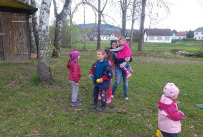 Spiel und Spaß in der Waldgruppe!
