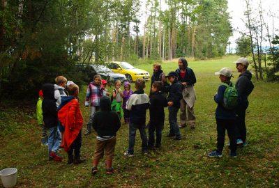 Finde Rotkäppchen – Schnitzeljagd durch den Wald